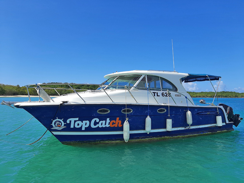Top Catch high speed Catamaran